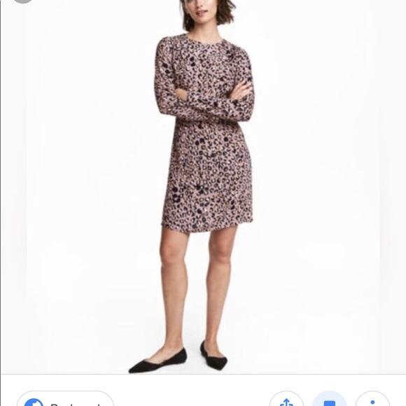 10e25523c4e6 H&M Dresses   Leopard H M Dress New With Tags   Poshmark